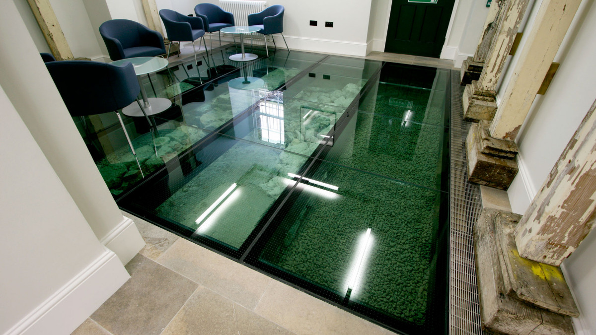 Charming Glass Floors