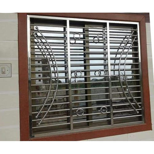 Stainless steel window grill design catalogue window grill for Window design catalogue