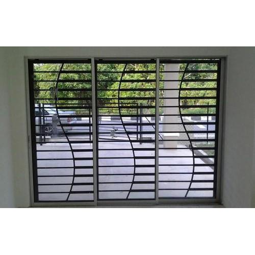 Iron grills alexo metals for Window design ms